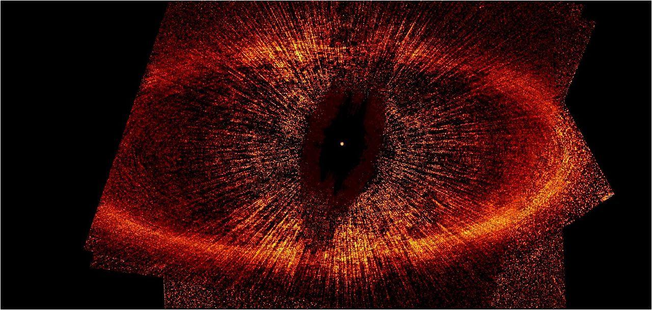 El Hubble localiza el ojo de Sauron