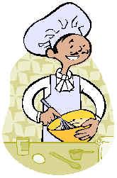 Programando recetas de cocina