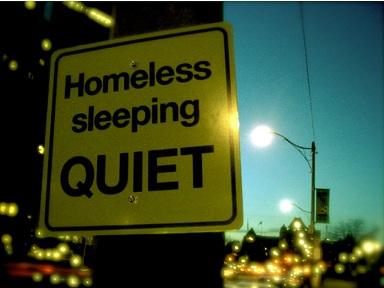 ¡Silencio! Vagabundos dormidos
