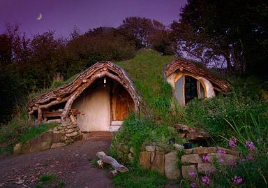 Casa de Hobbits real