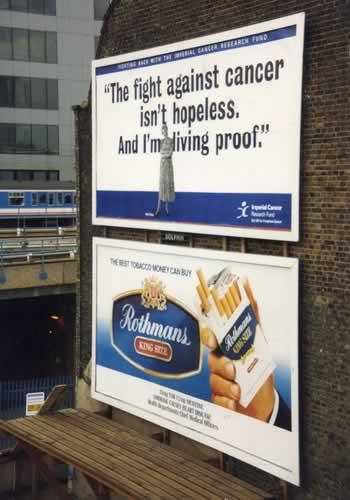 Anti cancer & Cigarros