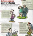Estereotipos de estudiantes universitarios