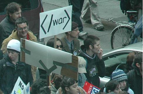 Protesta geek