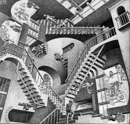 La relatividad de Escher