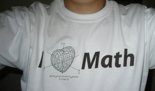 I love math camiseta