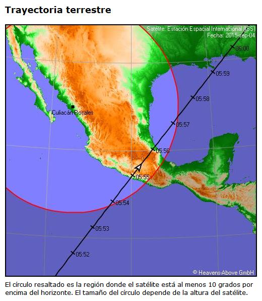 Cómo puedo ver satélites desde la tierra